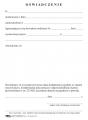 Oświadczenie -  odpowiedzialność karna art. 233
